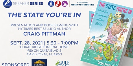 Presentation and Book Signing by NYT Best Selling Author Craig Pittman tickets