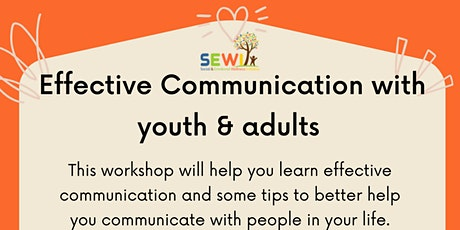 EffectiveCommunication with Youth & Adults tickets