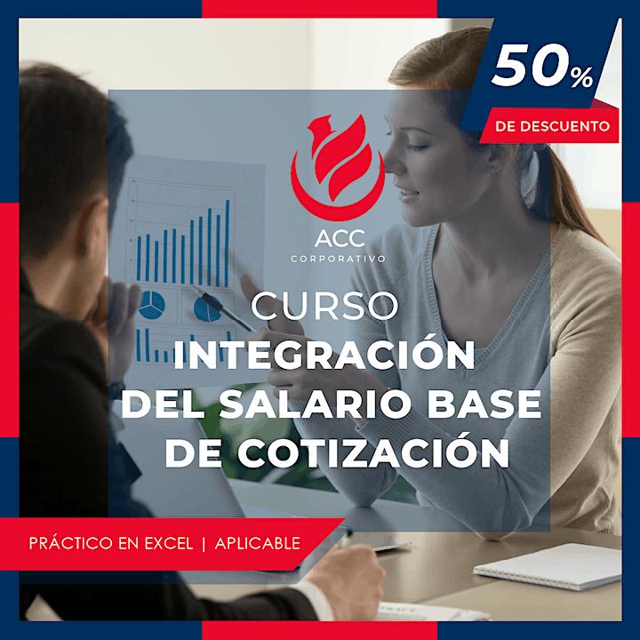 Imagen de Curso Integración de Salario Base de Cotización
