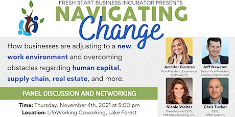 Navigating Change: Adjusting to a New Work Environment (Panel & Networking) tickets