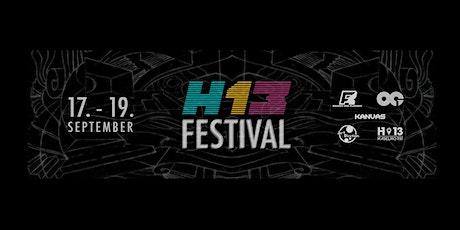H13 Festival (3G) biglietti