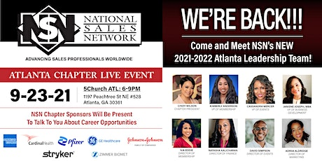 We're  Back!! NSN Atlanta Chapter LIVE Event tickets
