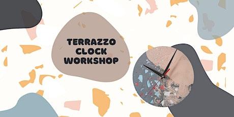 Terrazzo Wall Clock Workshop with Polymorphics tickets