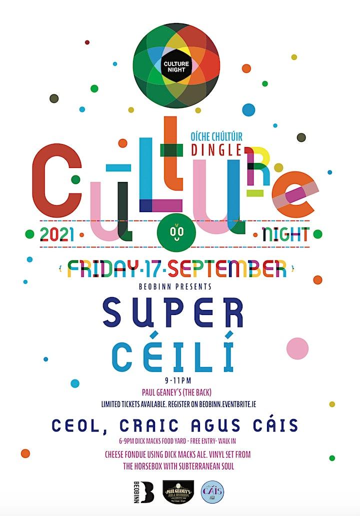 Culture Night, Super Céilí, Dingle image