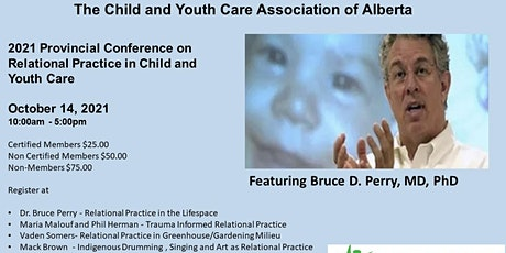 2021 Provincial Conference on Relational Practice in Child and  Youth Care entradas