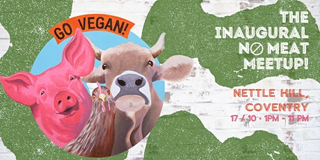 The Inaugural No Meat Meetup! tickets