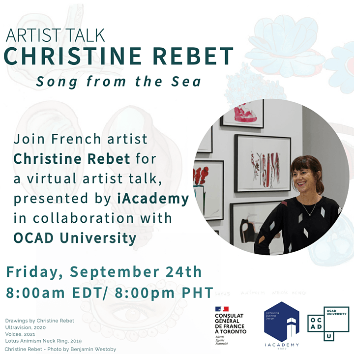 Artist Talk - Christine Rebet: Song from the Sea image