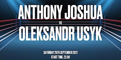 Anthony Joshua vs usky tickets