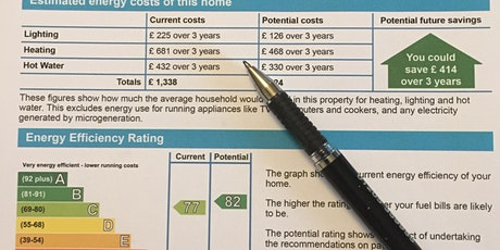 Understanding EPC's  Course for  Landlords  (Virtual)  Fri 22nd Oct  2021 tickets