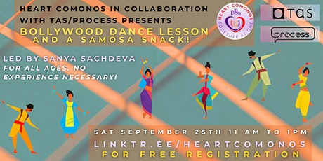 Heart Comonos Presents: Bollywood Dance Lesson and a Samosa Snack! tickets