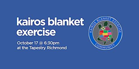 Kairos Blanket Exercise tickets