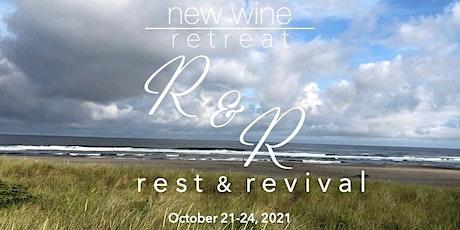 New Wine, New Wineskins: Fall 2021 Retreat tickets