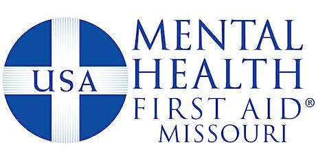 Mental Health First Aid (Missouri Virtual Course) tickets