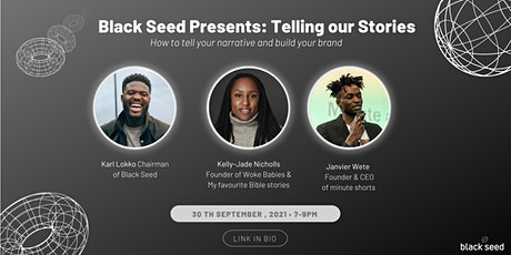 Black Seed Presents: Telling our Stories tickets