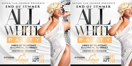 End of Summer All White Party tickets