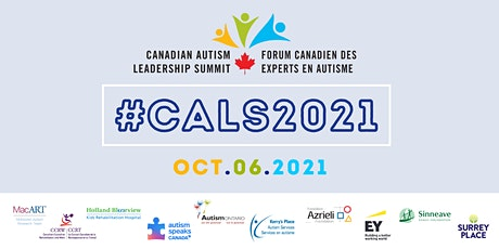 Canadian Autism Leadership Summit 2021 (CALS2021) tickets
