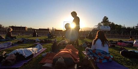 World Wellness Weekend en Entre Cielos - BAÑO DE SONIDOS · Javier González entradas