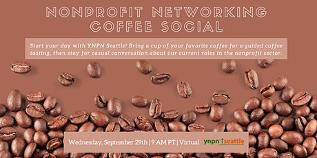 Nonprofit Networking Coffee Social tickets