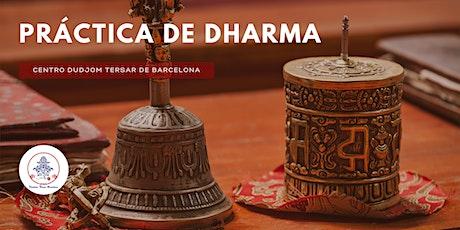 Práctica regular de Dharma entradas