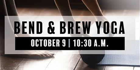 Bend and Brew Yoga tickets