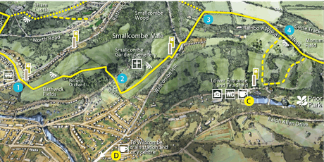 Sunday 19th September a Bath Skyline Family Walk and a Picnic tickets
