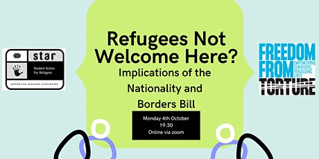 Refugees Not Welcome Here? Implications of the Nationality and Borders Bill tickets