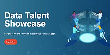 Data Talent Showcase - September 30, 2021 tickets
