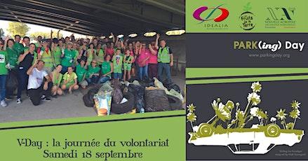 La journée du volontariat - World Clean Up day et Parking Day billets