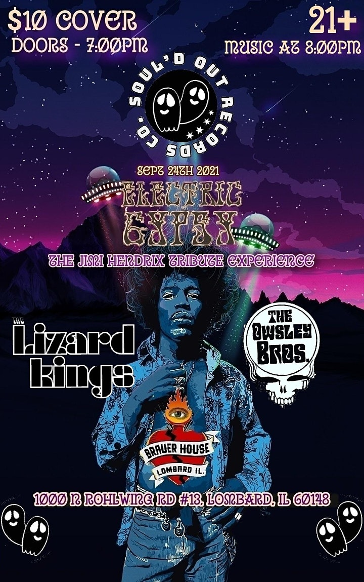 Electric Gypsy The Jimi Hendrix Tribute EXPERIENCE image