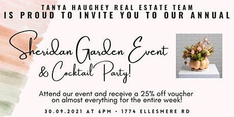 Sheridan Fall Garden Event tickets
