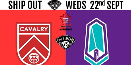BUS ONLY - Sept 22nd, CANADIAN CHAMPIONSHIP QUARTERFINAL tickets