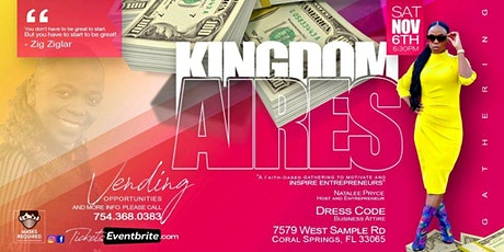 Kingdomaires  Gathering - A Faith-Based Event For Entrepreneurs tickets