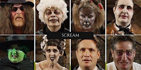 SCREAM - A  virtual murder mystery challenge for Halloween tickets
