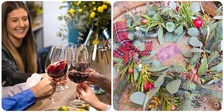 Wine Tasting and Christmas Wreath Workshop tickets