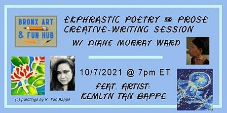 --- Oct. 2021 Ekphrastic Poetry and Prose Creative-Writing Session --- tickets