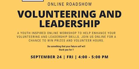Online Roadshow: Volunteering and Leadership tickets