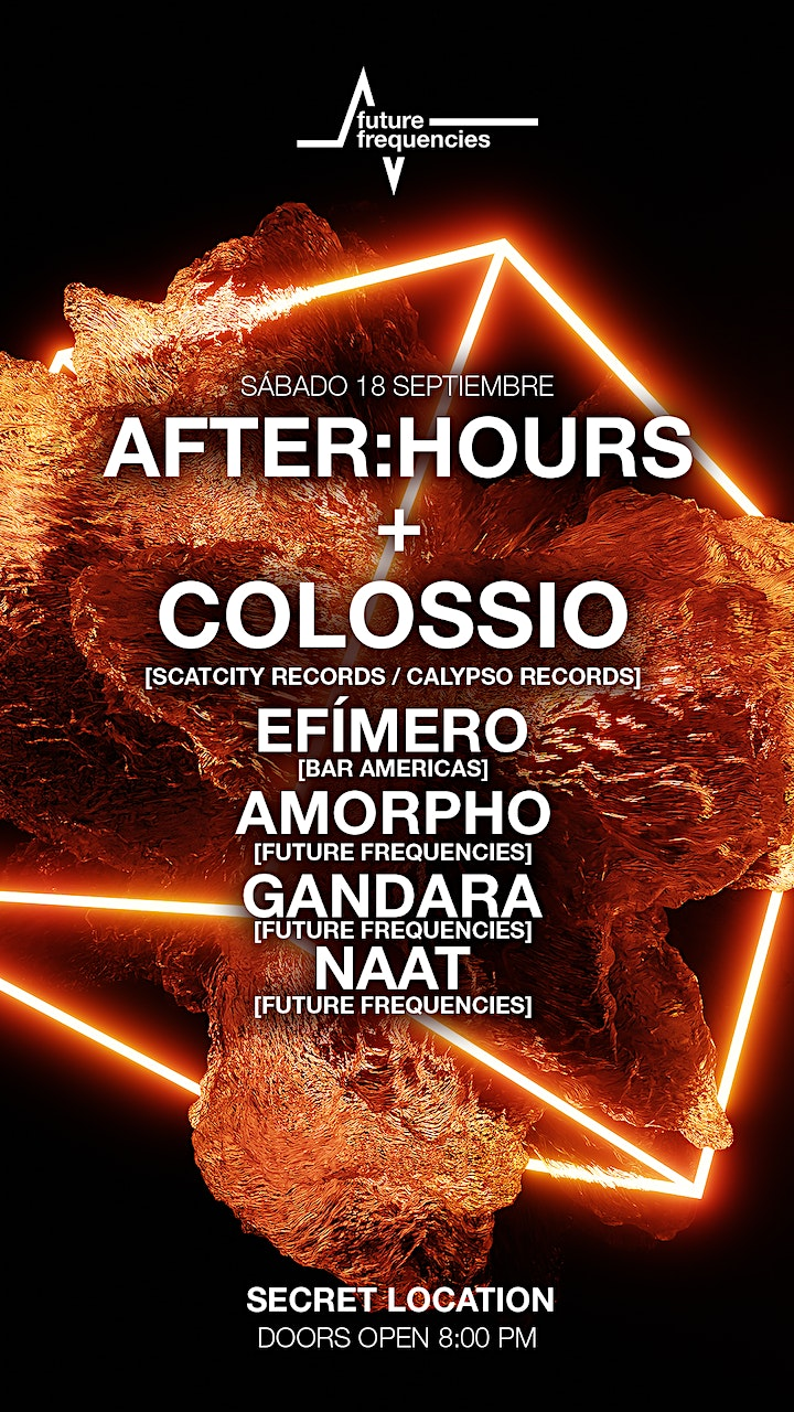 AFTER : HOURS + COLOSSIO image
