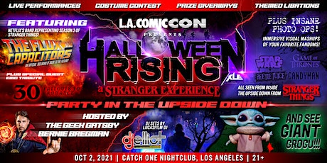 HALLOWEEN RISING: A Stranger Costume Party! tickets
