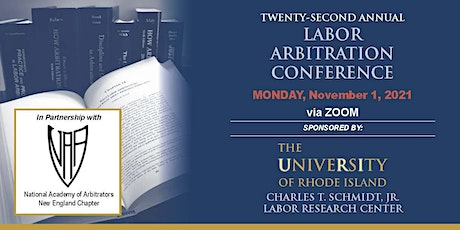 22nd Annual Labor Arbitration Conference tickets