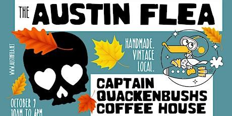Austin Flea at Captain Quackenbush's Coffeehouse tickets