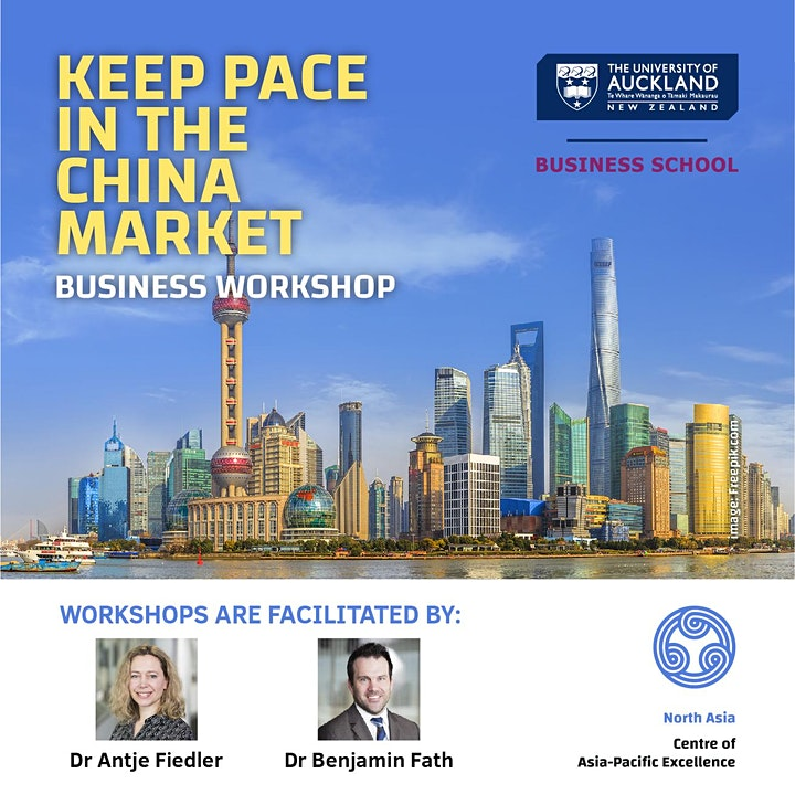Exclusive Online Business Workshop - Keep Pace In The China Market image