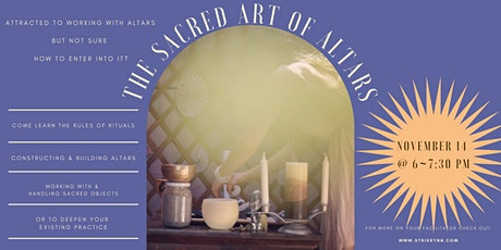 The Sacred Art of Altars tickets