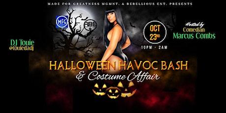 Halloween Havoc Bash  & Costume Affair tickets