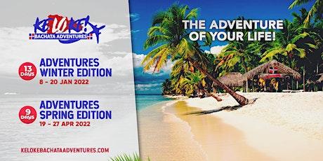 Keloke Bachata Adventures 19-27th April 2022 tickets