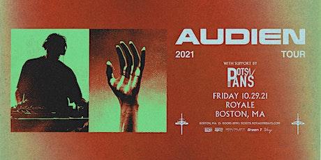 Audien tickets