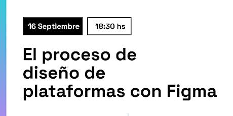 Introducción al proceso de diseño de plataformas con Figma. Tickets