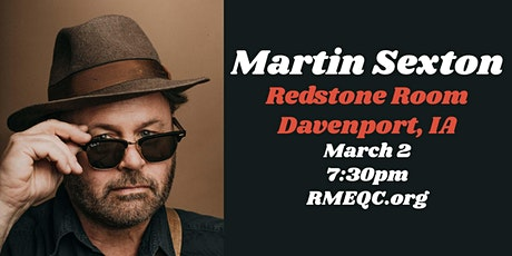Martin Sexton | Redstone Room tickets