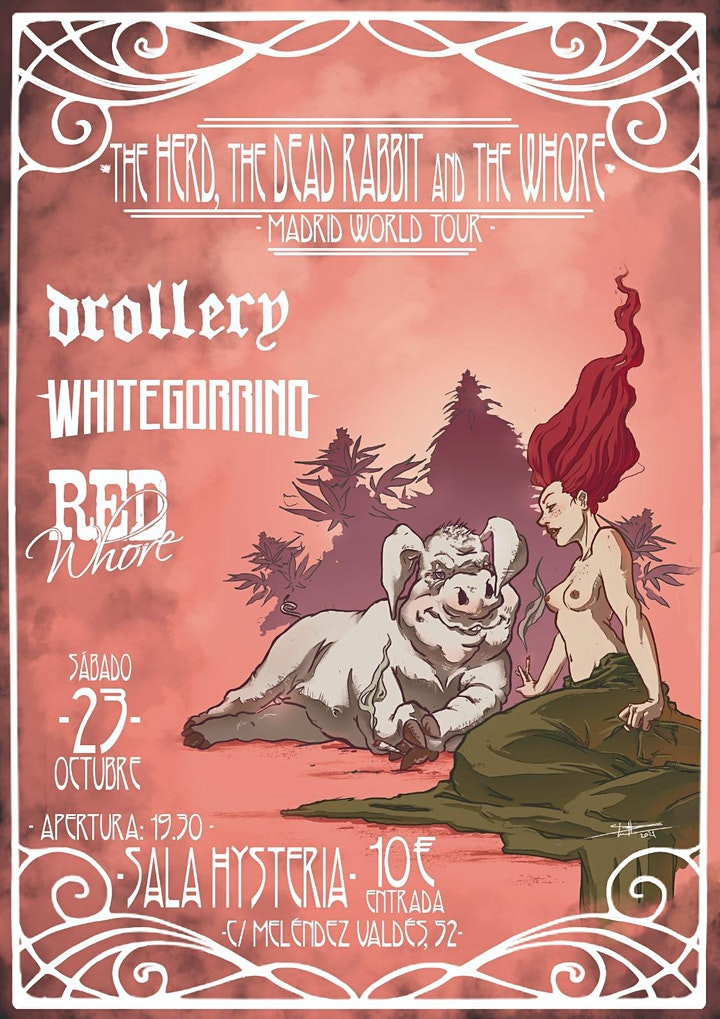 Imagen de The herd the rabbit and the whore (Madrid World To