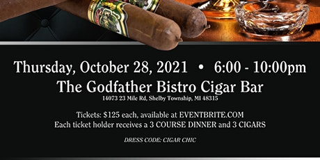 Cigar Dinner with Jorge's Cigars tickets