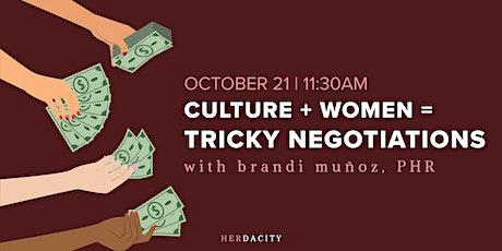 Culture + Women = Tricky Negotiations | Webinar tickets